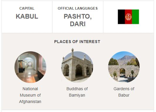 Official Language of Afghanistan