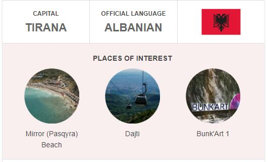 Official Language of Albania