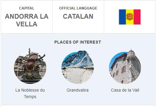 Official Language of Andorra