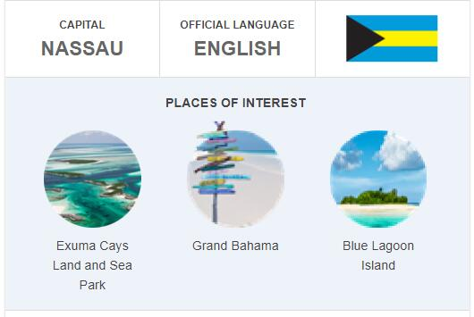 Official Language of Bahamas
