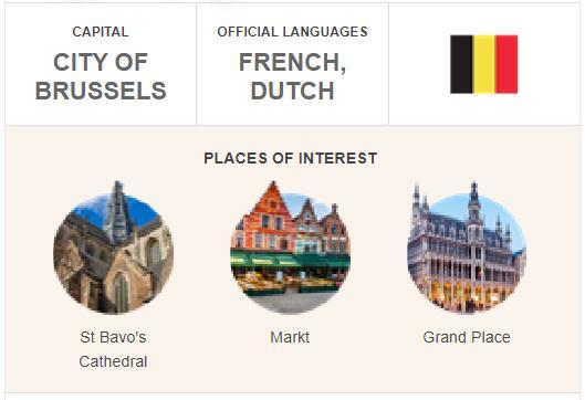 Official Language of Belgium