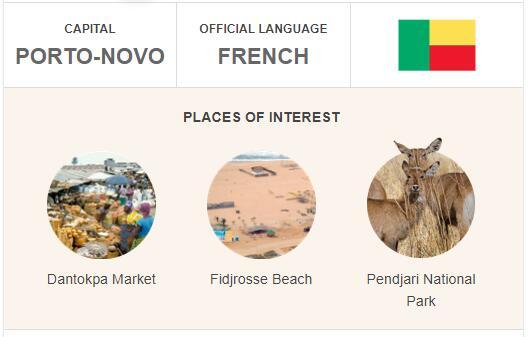 Official Language of Benin