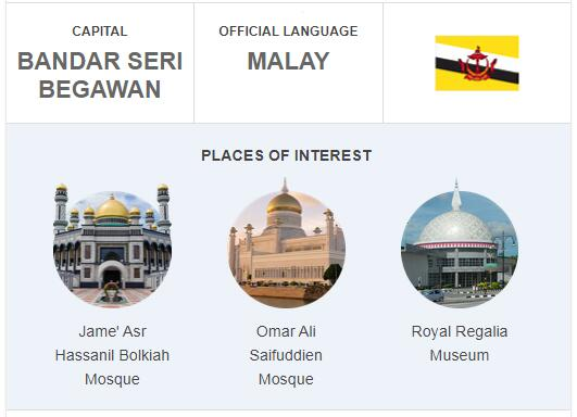 Official Language of Brunei