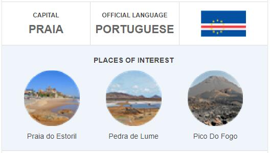 Official Language of Cabo Verde