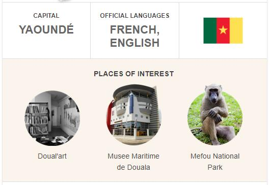 Official Language of Cameroon