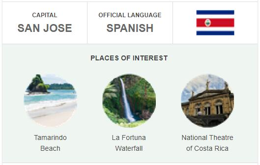Official Language of Costa Rica