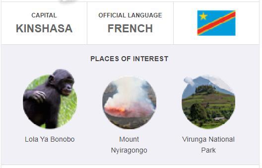 Official Language of Democratic Republic of The Congo