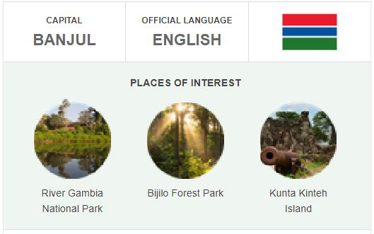 Official Language of Gambia