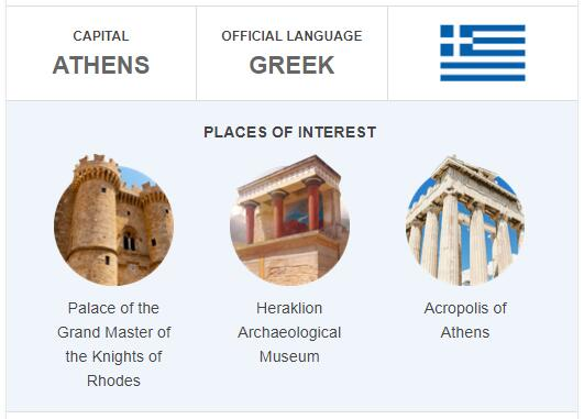 Official Language of Greece