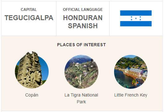 Official Language of Honduras