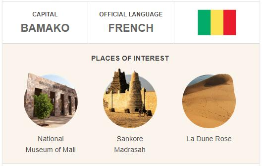 Official Language of Mali