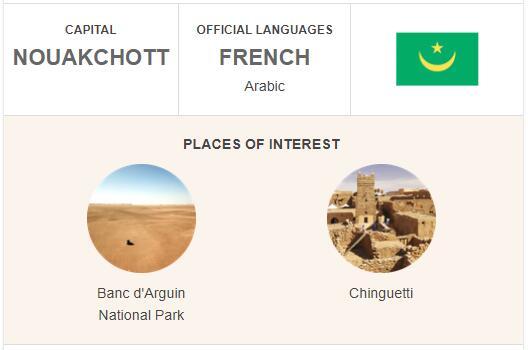 Official Language of Mauritania
