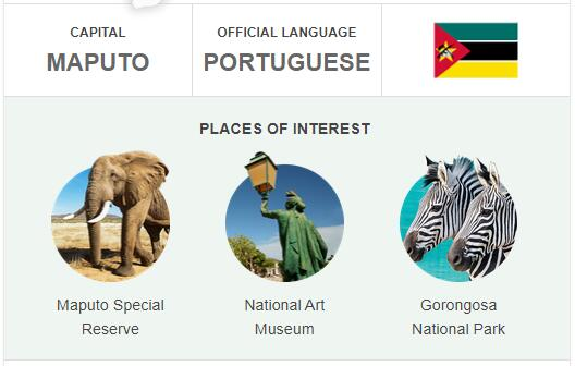 Official Language of Mozambique