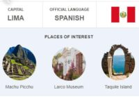 Official Language of Peru