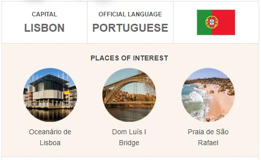 Official Language of Portugal