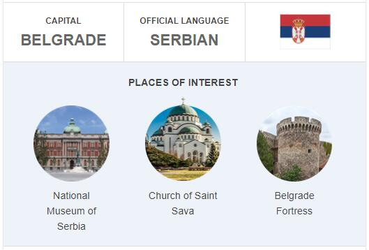 Official Language of Serbia