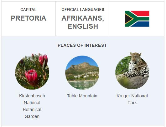 Official Language of South Africa