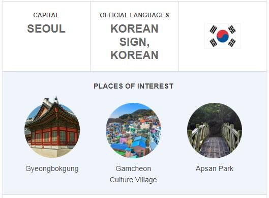 Official Language of South Korea