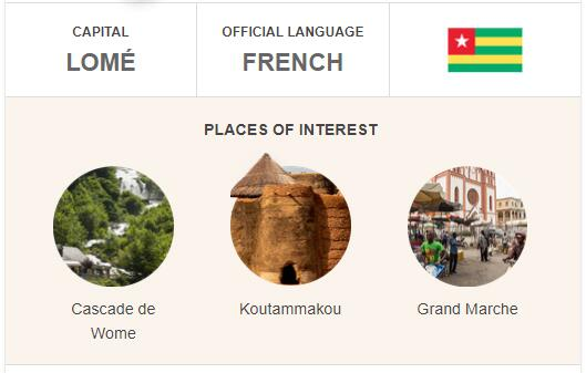 Official Language of Togo