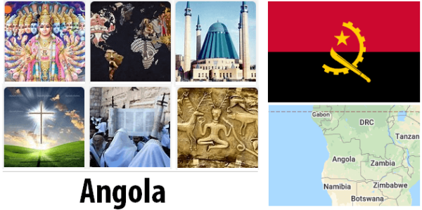Angola Population by Religion