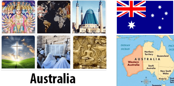 Australia Population by Religion