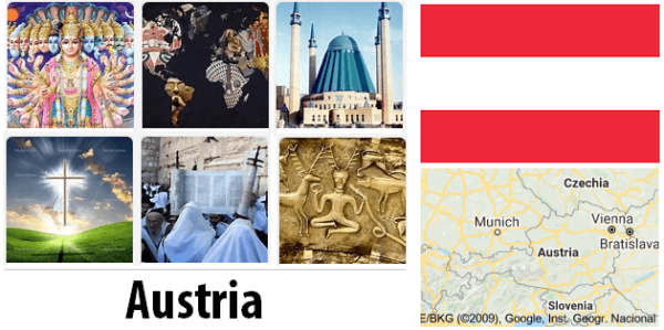 Austria Population by Religion