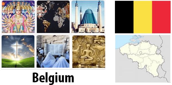 Belgium Population by Religion