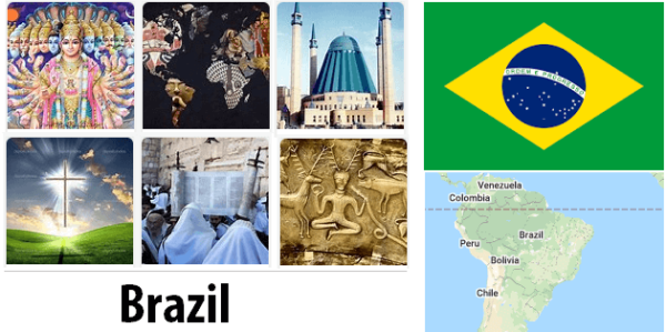 Brazil Population by Religion
