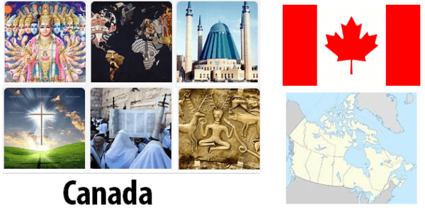 Canada Population by Religion
