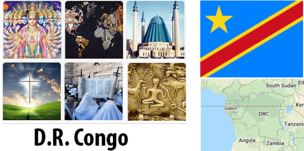 Democratic Republic of the Congo Population by Religion