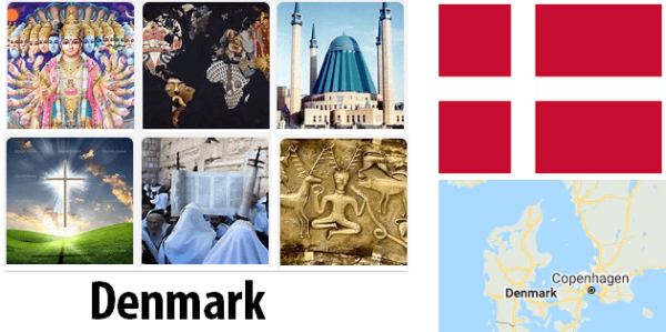 Denmark Population by Religion