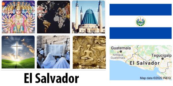 El Salvador Population by Religion