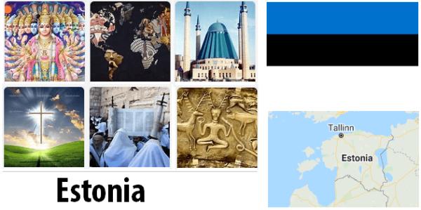 Estonia Population by Religion