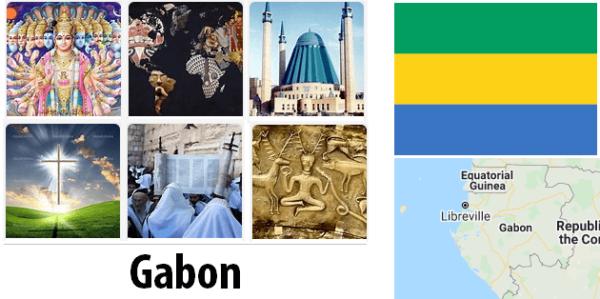 Gabon Population by Religion