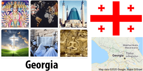 Georgia Population by Religion