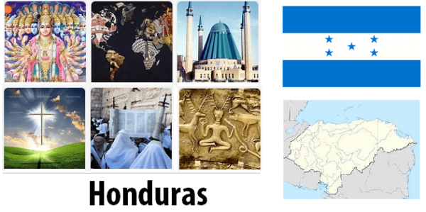 Honduras Population by Religion