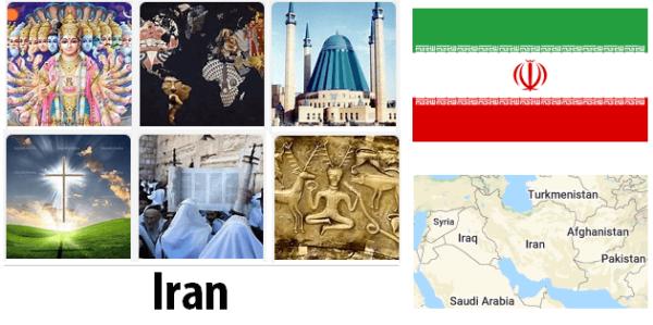 Iran Population by Religion