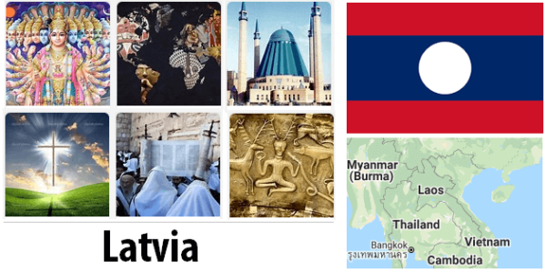 Latvia Population by Religion
