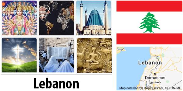 Lebanon Population by Religion