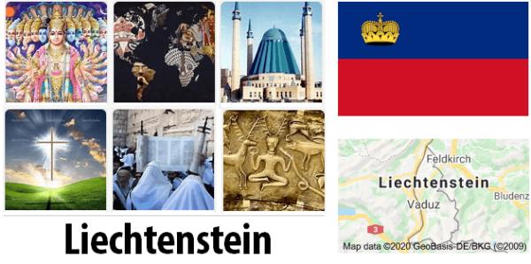 Liechtenstein Population by Religion