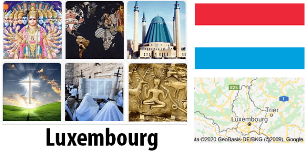 Luxembourg Population by Religion