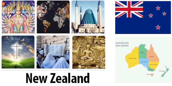 New Zealand Population by Religion