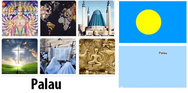 Palau Population by Religion