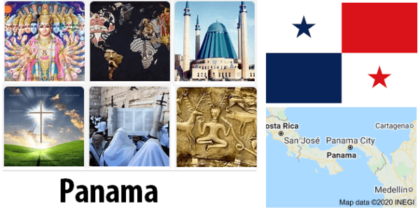 Panama Population by Religion