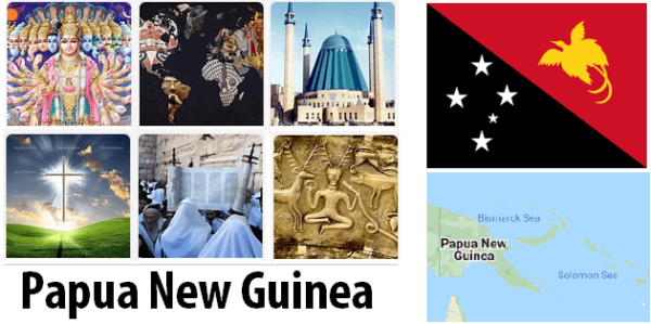 Papua New Guinea Population by Religion