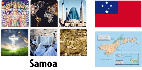 Samoa Population by Religion