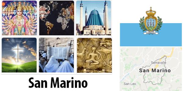 San Marino Population by Religion