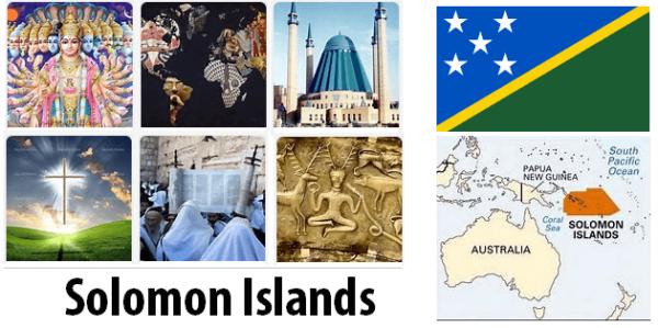 Solomon Islands Population by Religion