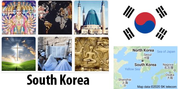 South Korea Population by Religion