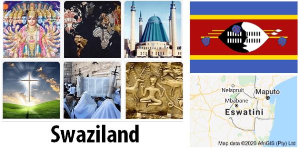 Swaziland Population by Religion